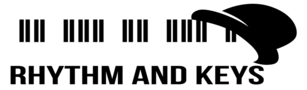 Rhythm and Keys Prague Logo
